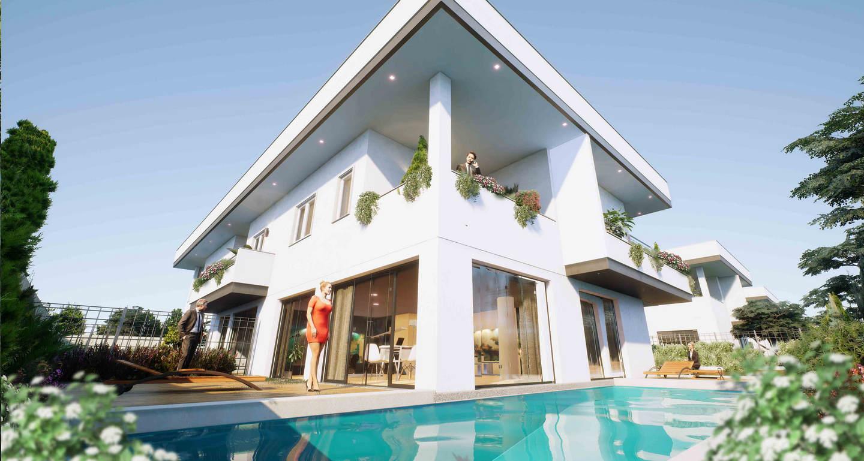 Ville stile moderno stunning favolosa villa in legno con for Come leggere la costruzione di progetti